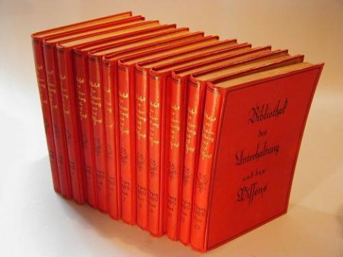 bibliothek der unterhaltung und des wissens 1929 53. Black Bedroom Furniture Sets. Home Design Ideas