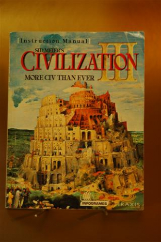 Civilisation III. More CIV than Ever. Instruction Manual