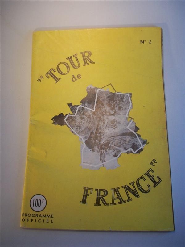 Programme officiel Tour de France 1948. Offizielles Programm der 35. Tour 1948