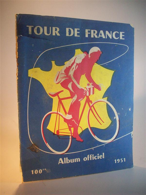 Tour de France Album officiel 1951. (Offizielles Programm der 38. Tour 1951)